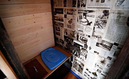 Pikkutalossa on myös kuivakäymälä.