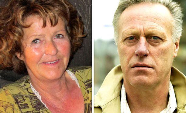 Anne-Elisabeth Hagenin kidnappauksen selvittämiseksi apuun on kutsuttu myös kielitieteilijöitä. Oikealla aviomies Tom Hagen.
