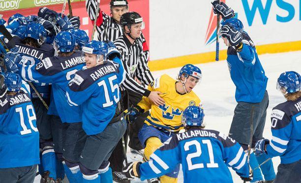 Mikko Rantanen uskoo, että Suomi on finaalissa parhaimmillaan.