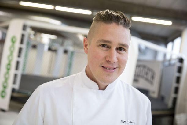 Tomi Björck on 2010-luvun tv-kokkitähti.