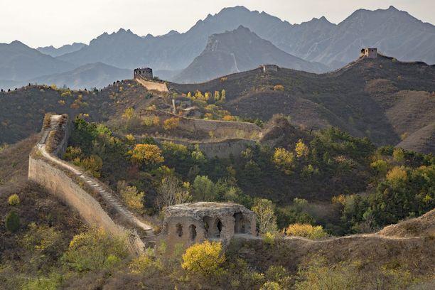 Kiinan muuri on kärsinyt liian tehokkaan maanviljelyn takia.