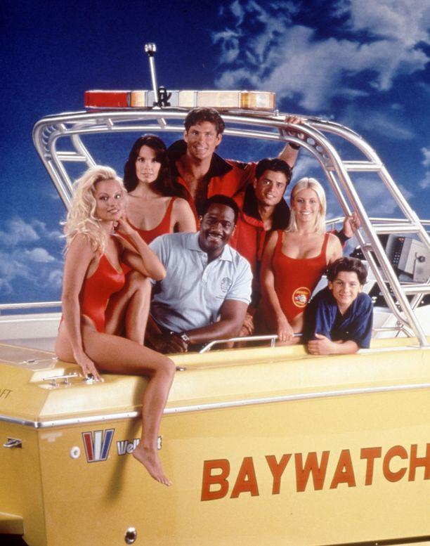 Baywatch kesti 1980-luvulta 2000-luvulle.