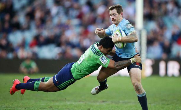 Rugbyssa sattuu ja tapahtuu. Kuva ei liity tapaukseen.