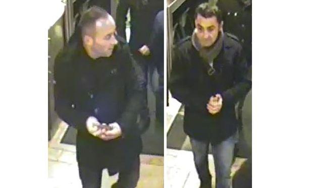 Poliisin epäilee näitä miehiä useista lompakkovarkauksista.