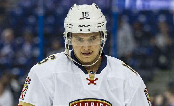 Suomalaishyökkääjä Aleksander Barkov on toipunut loukkaantumisestaan pelikuntoon.