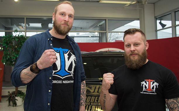 Robert Helenius ja Johan Lindström ovat tehneet yhteistyötä jo useamman vuoden ajan.