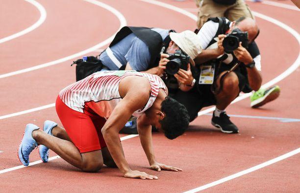 Lalu Muhammad Zohri yllätti voittamalla mm. yhdysvaltalaiset nuorten MM-kisojen 100 metrin finaalissa.
