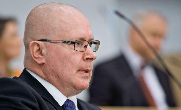 Oikeusministeri Jari Lindström (ps).