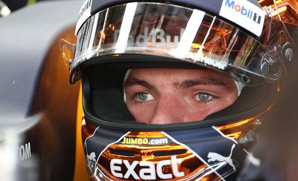 Max Verstappenin paras sijoitus tällä kaudella on Kiinan GP:n kolmossija.