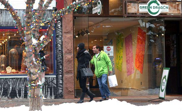 Marijuana laillistettiin Coloradon osavaltiossa vuoden 2014 tammikuussa.