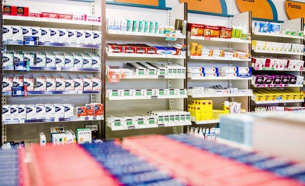 Muun muassa apteekit ovat jääneet vaille lääkkeitä. Kuvituskuva.
