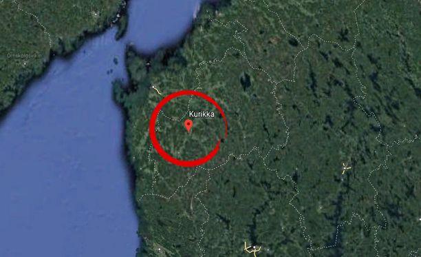Kurikka sijaitsee Etelä-Pohjanmaan maakunnassa.