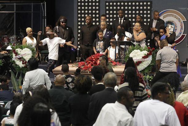 Stephon Clark, 22, haudattiin tällä viikolla.