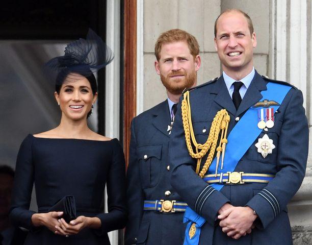 Prinssi William on huolissaan veljestään prinssi Harrysta ja kälystään herttuatar Meghanista, jotka ovat olleet viime aikoina brittilehdistön hampaissa.