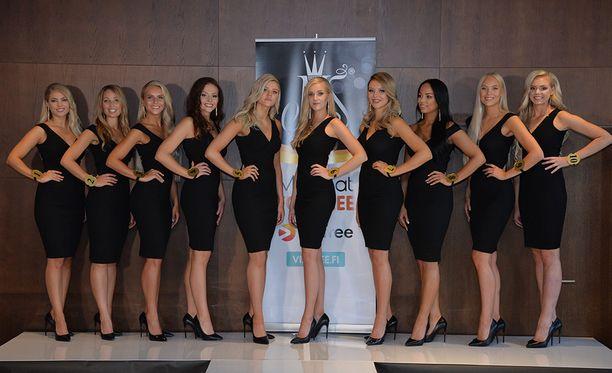 Joku heistä on uusi Miss Suomi.
