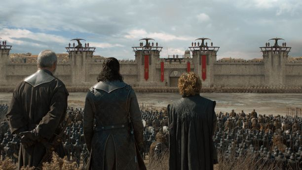 Game of Thronesin tuoreimmassa jaksossa käytiin taistelua Kuninkaansatamassa.