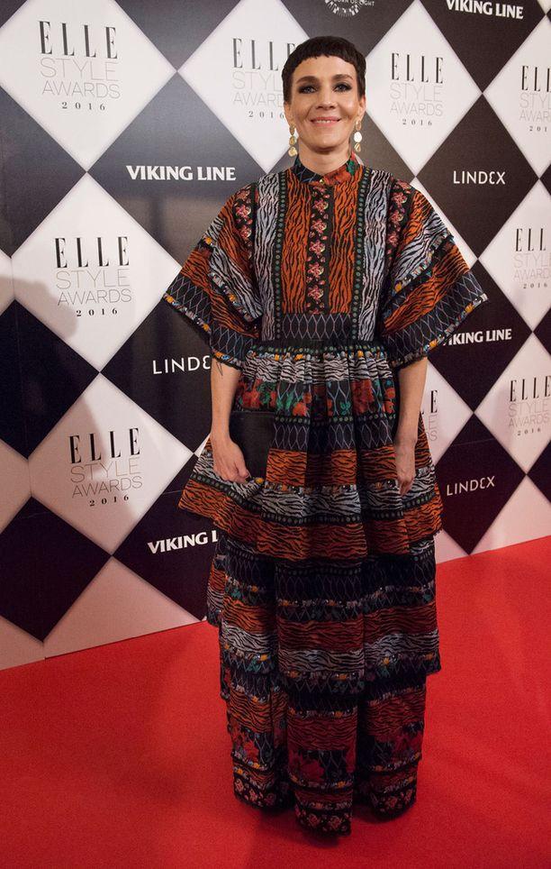 Kuvassa Veitola viime lokakuussa Elle Style Awards -gaalassa.