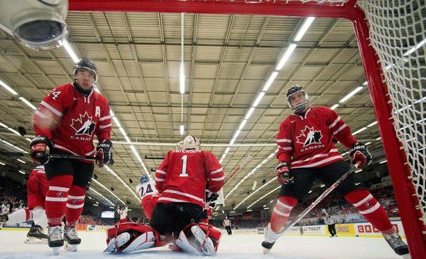 Kanada on nuorten MM-kisojen jokavuotinen suursuosikki.