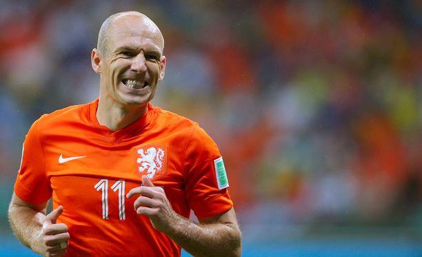 Arjen Robben on väsynyt kriitikoihin.