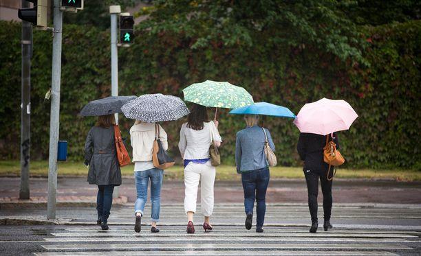 Epävakainen sää jatkuu koko viikon.