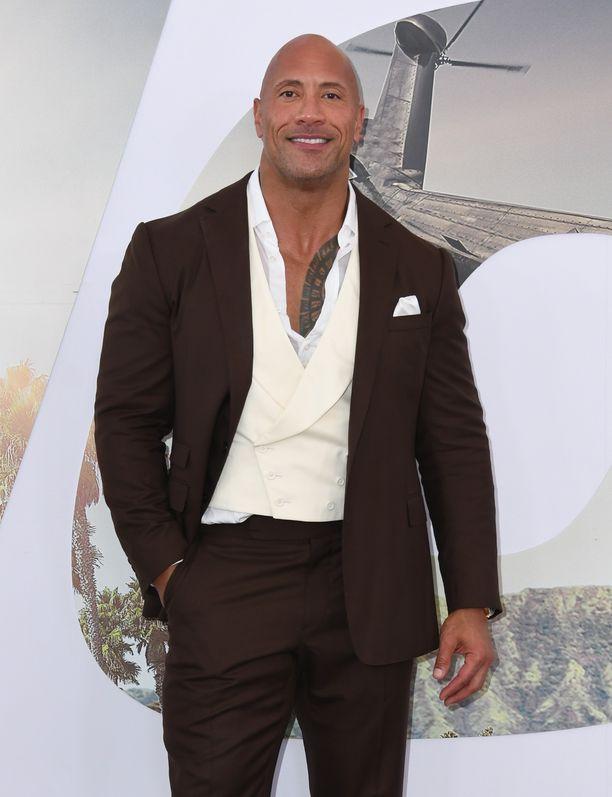 Dwayne Johnson on maailman kovapalkkaisin näyttelijä.