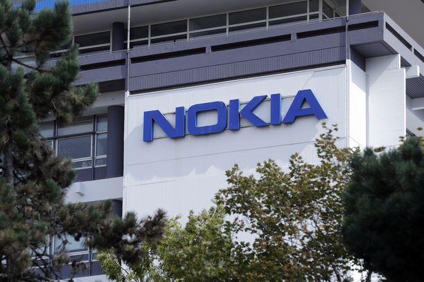 Nokian toimisto Pariisissa. Kuvituskuva.