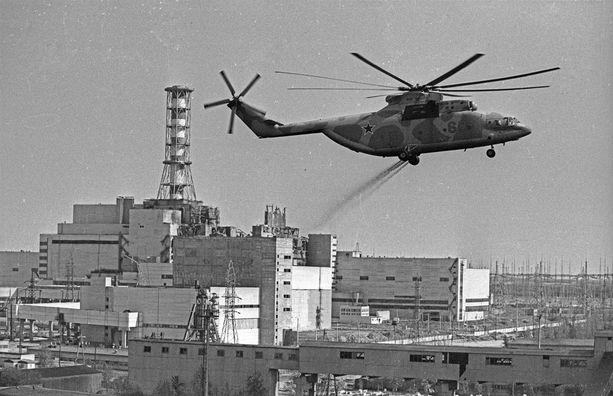 Tšernobylin nelosreaktorin räjähdys levitti radioaktiivisuutta ympäri Eurooppaa.