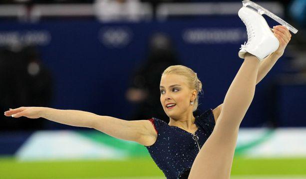 Kiira Korpi sai vapaaohjelmassa 108,61 pistettä.