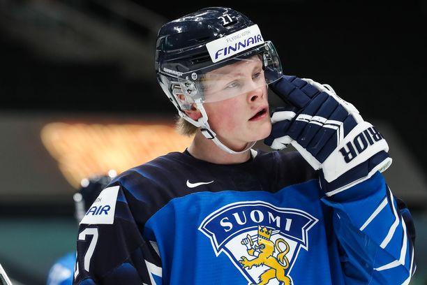 Juuso Pärssinen on esiintynyt vakuuttavasti alle 20-vuotiaden MM-kisoissa.