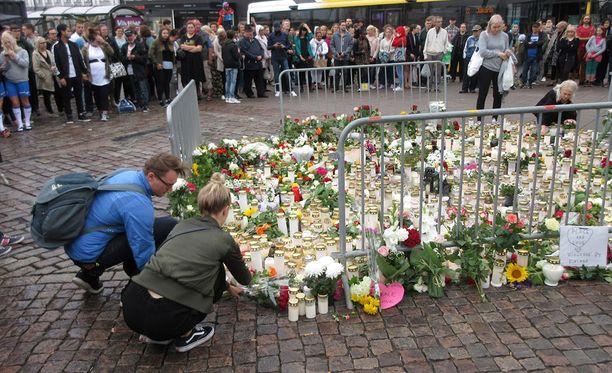 Turun puukotuksissa kuoli kaksi ihmistä ja yhdeksän ihmistä loukkaantui elokuussa 2018.