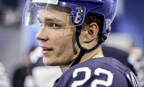 Miikka Salomäki saa mahdollisuuden Predatorsissa.