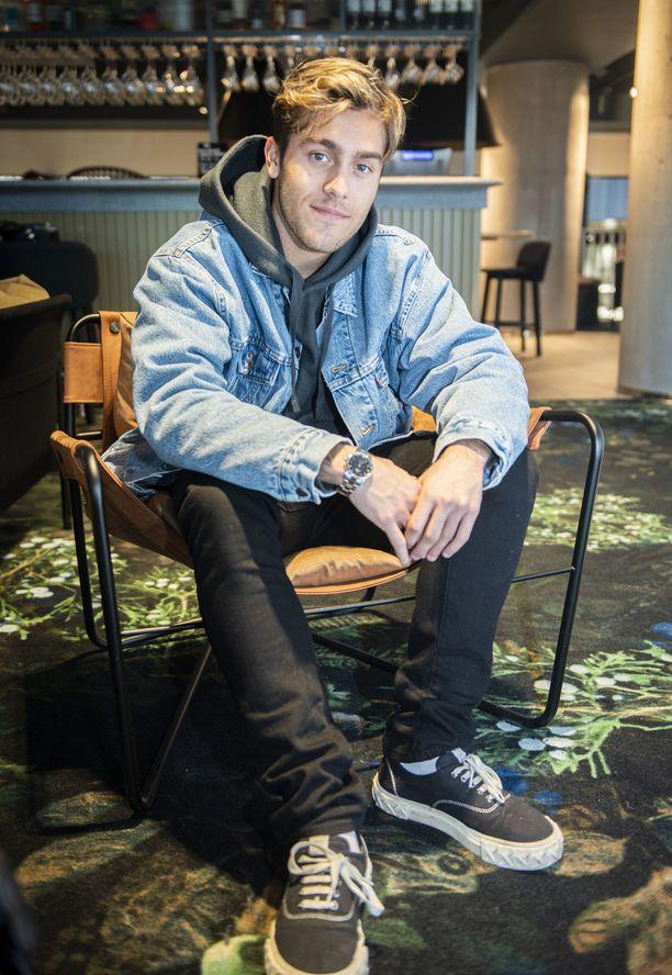 Benjamin Ingrosso sanoo olevansa nykyään 50 prosenttisesti musiikin kirjoittaja ja 50 prosenttisesti laulaja.