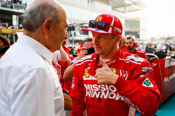 Sauber oli viime kaudella seuraamassa Abu Dhabin GP:n, joka oli Kimi Räikkösen viimeinen kilpailu Ferrarilla.