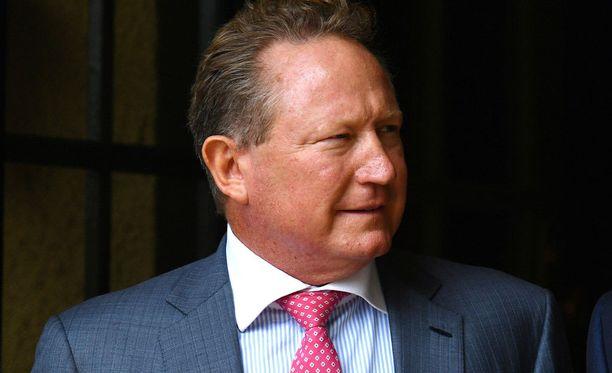 Andrew Forrest, miljonääri ja hyväntekijä.