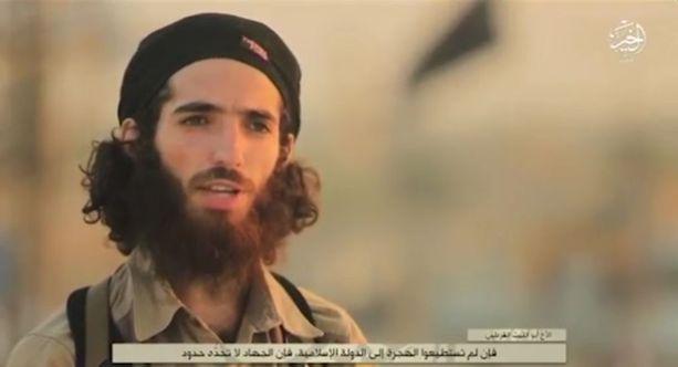 Propagandavideolla esiintyvä Muhammad Yasin Ahram Peréz on ollut Isisin taistelualueilla vuodesta 2014.