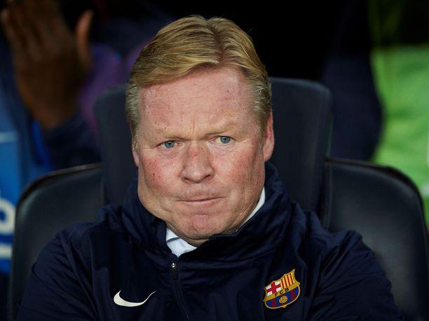 Ronald Koemanin Barcelona jatkaa konttaamista.