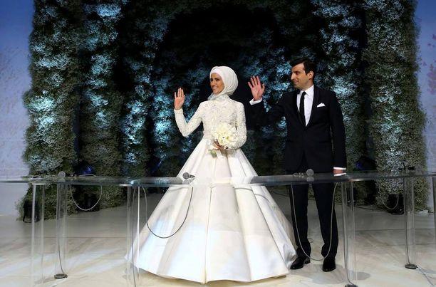 Sümeyye on Erdoganien lapsista nuorin.