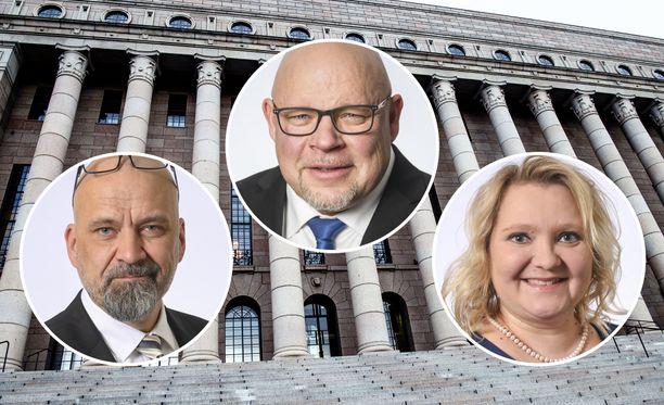 Eduskunnan ahkerimmat autoilijat ovat Ano Turtiainen (at), Suna Kymäläinen (sd) ja Mauri Peltokangas (ps).