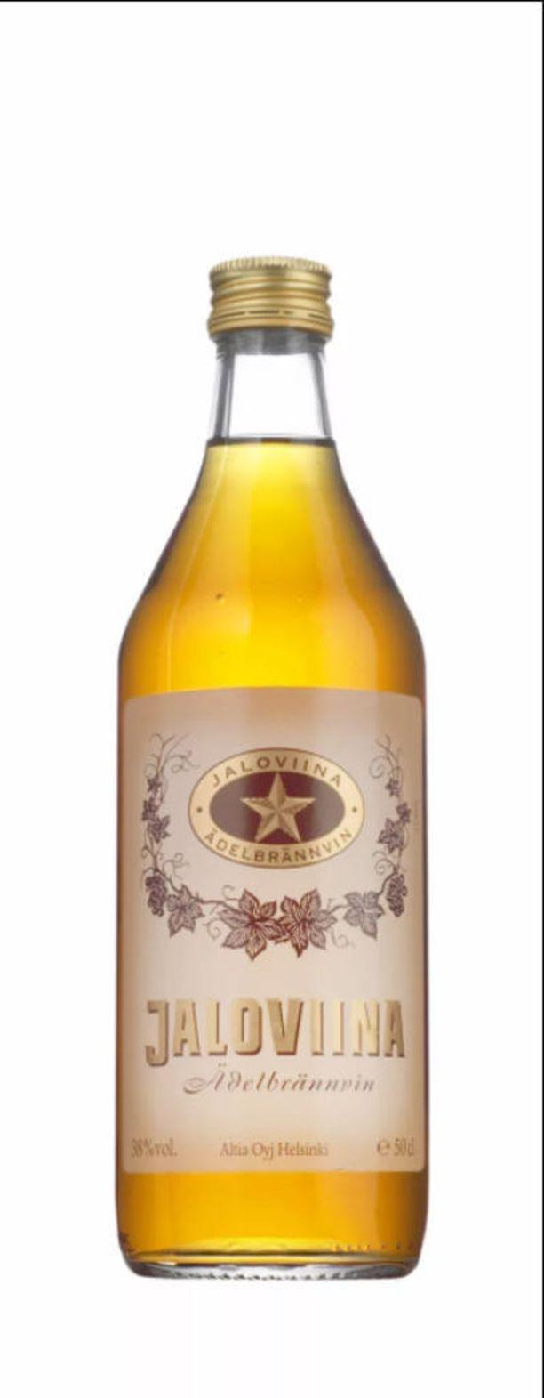 Yhden tähden Jaloviina minipullossa maksaa litralta 64,75 euroa. Isossa eli 0,7 litran pullossa litrahinta on 23,90 euroa.