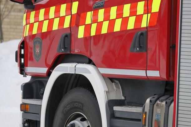 Navetta tuhoutui tulipalossa Myrskylässä, kertoo pelastuslaitos. Kuvituskuva
