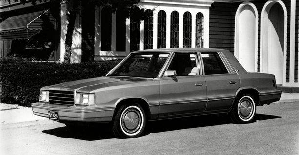 Plymouth Reliant 1982.