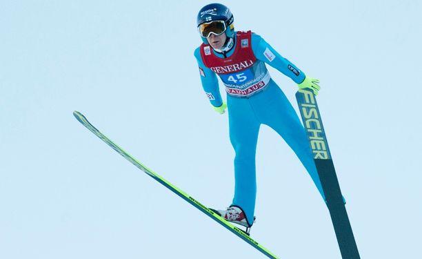 Jarkko Määttä nousi yhdeksän sijaa toisella kierroksella.