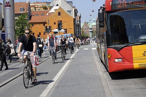 Kööpenhamina on vertailun mukaan maailman paras pyöräilykaupunki.