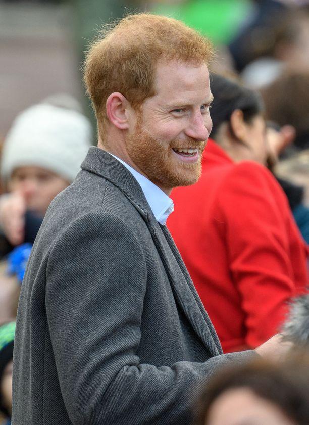 Tältä prinssi Harry näyttää nykyään. Valokuva tammikuulta 2019.