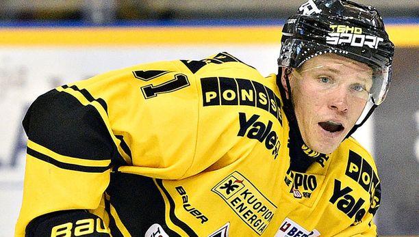 KalPan pikakiituri Janne Keränen valittiin Liigan marraskuun pelaajaksi.