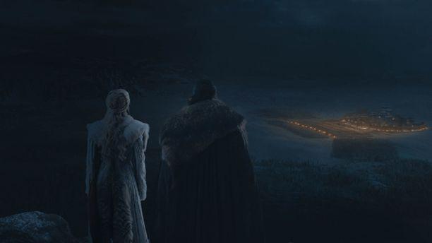 Kuva Game of Thronesin viimeiseltä tuotantokaudelta.