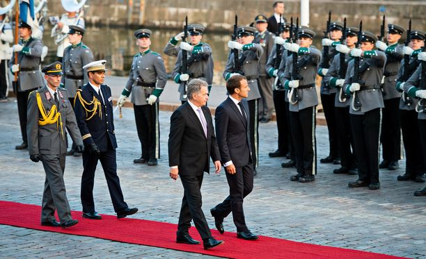 Presidentit Emmanuel Macron ja Sauli Niinistö antavat julistuksen torstaina.