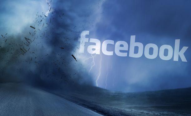 Facebookin työkalu seuraa palveluun liittyvää keskustelua.
