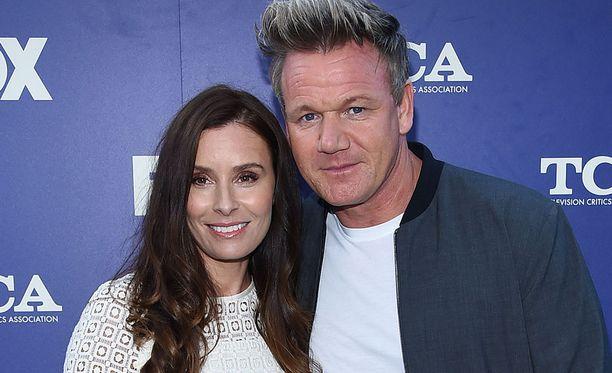 Gordon ja Tana Ramsay edustavat usein yhdessä erilaisissa tilaisuuksissa.
