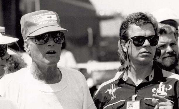 Robert Lappalainen ajoi aikoinaan samassa tallissa edesmenneen näyttelijälegendan Paul Newmanin kanssa.